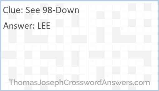 See 98-Down Answer