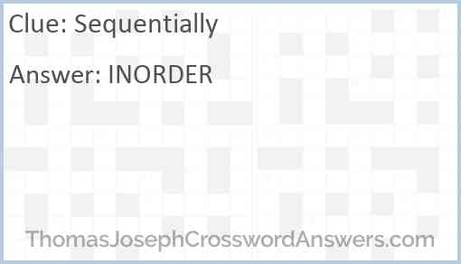 Sequentially Answer