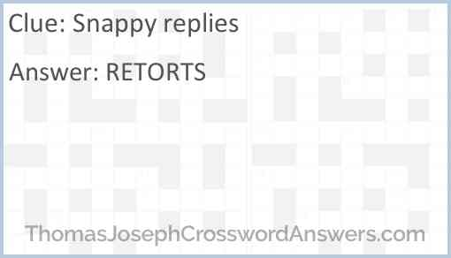 Snappy replies Answer