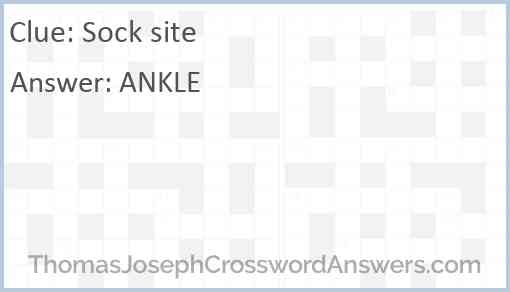 Sock site Answer