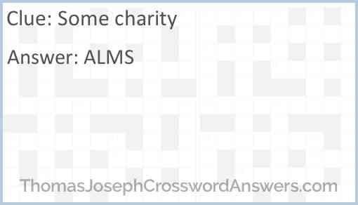 Some charity Answer