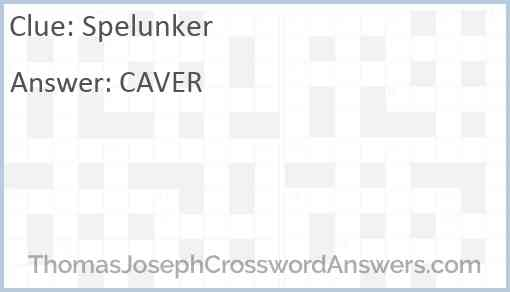 Spelunker Answer
