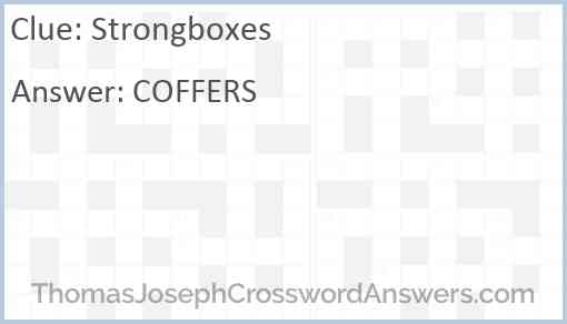 Strongboxes Answer
