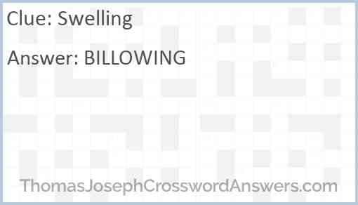 Swelling Answer