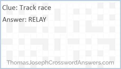 Track race Answer