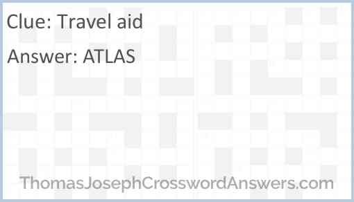 Travel aid Answer