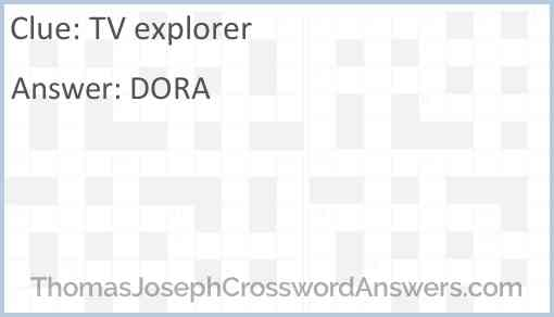TV explorer Answer