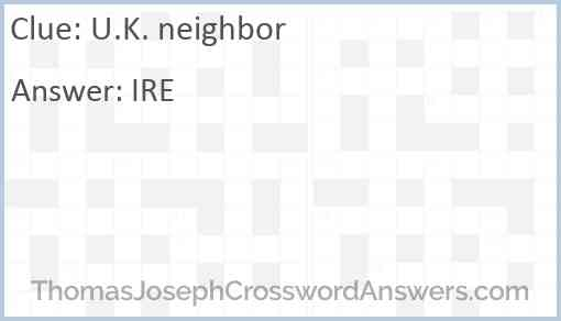 U.K. neighbor Answer