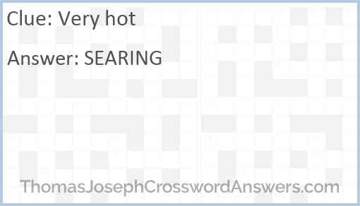Very hot Answer