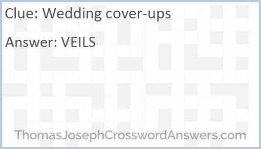 Wedding cover-ups Answer