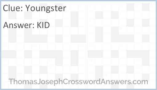 Youngster Answer